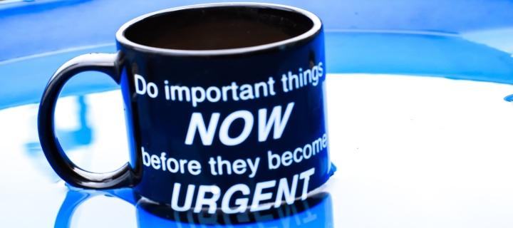 Oamenii de succes rezolvă imediat ce este important
