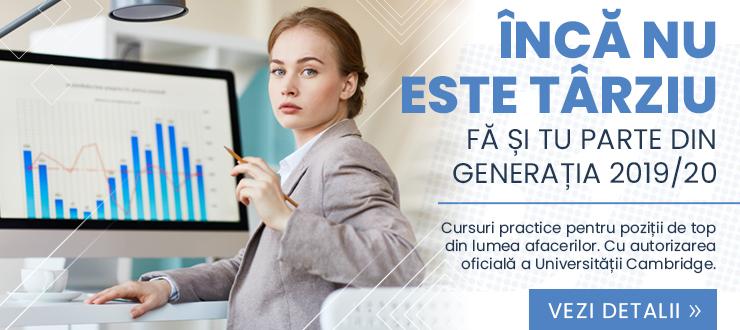 ÎNCĂ NU ESTE TÂRZIU. FĂ ȘI TU PARTE DIN GENERAȚIA 2019/20.
