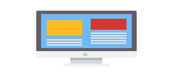 greșeli în design web